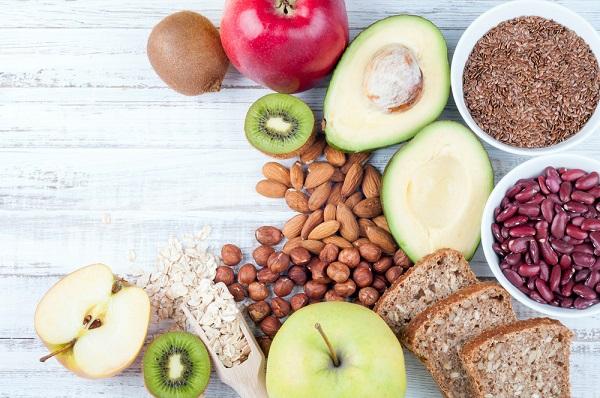 frutas semillas nueces nutrición natural
