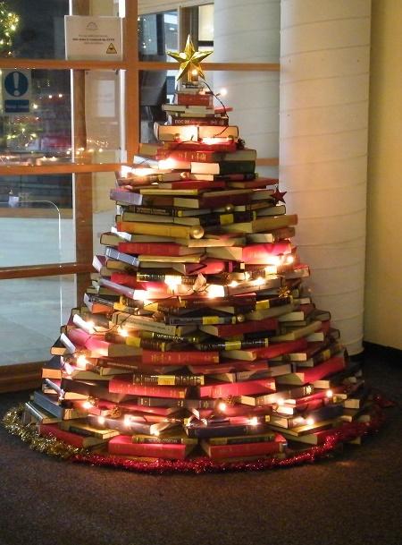 arbolito con libros