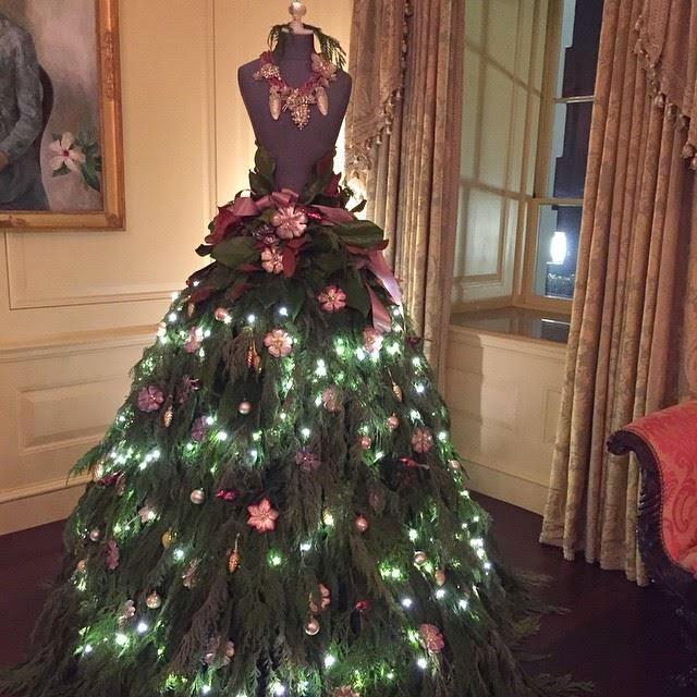 arbolito de navidad vestido