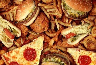 Alimento chatarra grasas trans