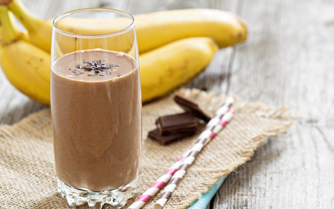 Batido de Chocolate saludable