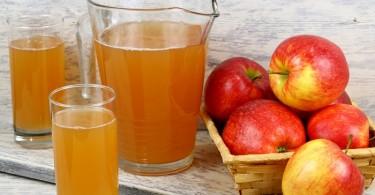 Jugo de manzana nectar