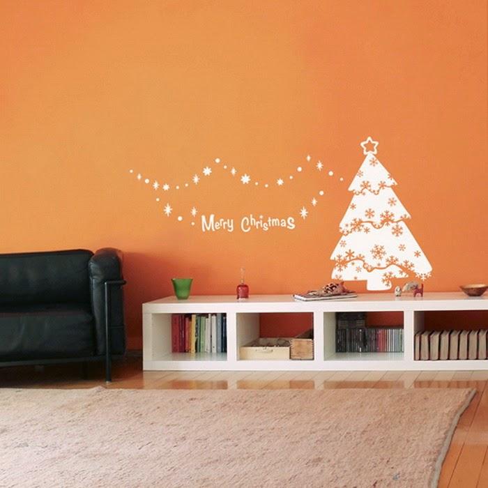árbol dibujado en navidad