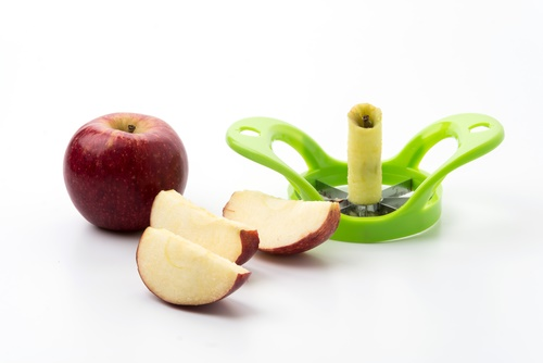 jugo de manzanas cortador