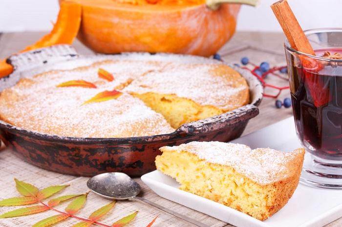 Pan de Almendra con Vainilla y Calabaza
