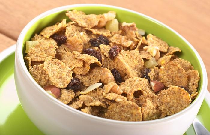 cereales integrales mejor que el pan blanco