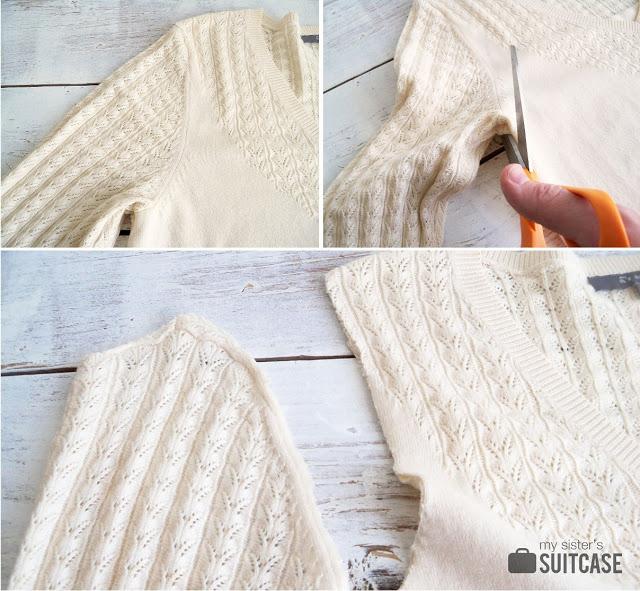 Cómo hacer medias/calcetas para botas reciclando tus