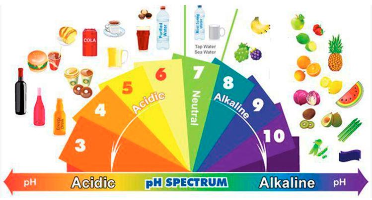 conseguir el balance ácido alcalino