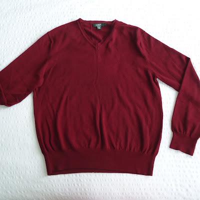 reciclar un sweater