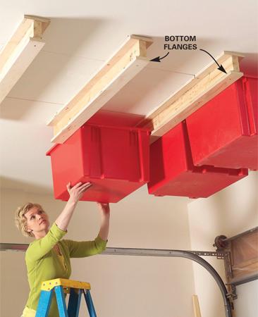 aprovechar espacio en el techo
