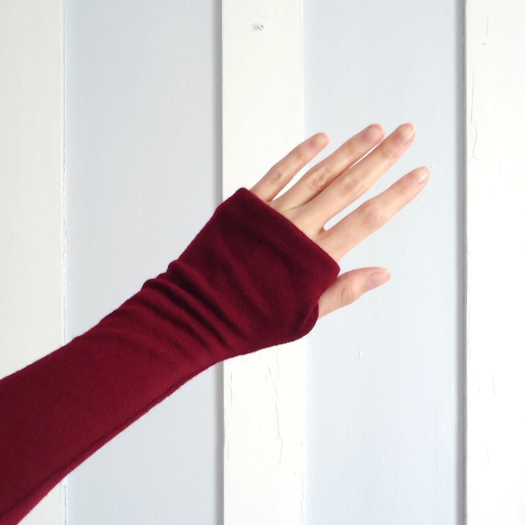 lindo guante de pullover reusado