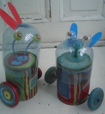Juguetes  reciclados