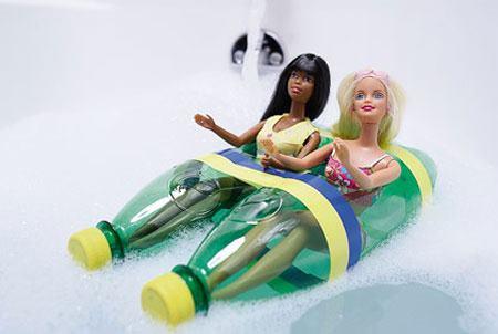 Muñecas plástico reciclado