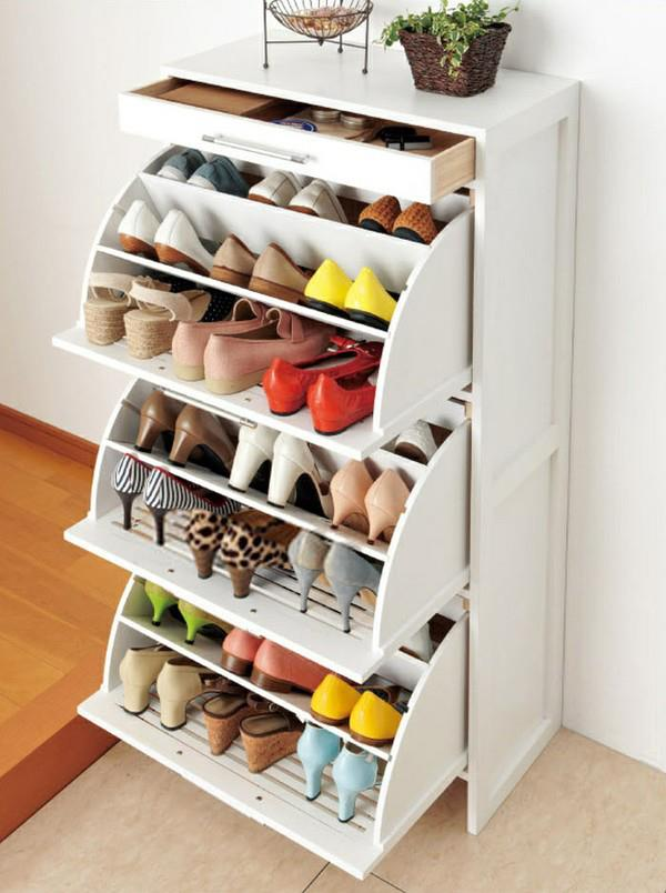 Ordenar zapatos para ahorrar espacio