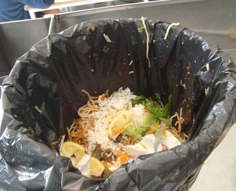 basura que podemos compostar