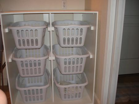 organizador para lavandería