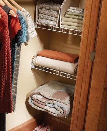 aprovechar espacio acomodar las toallas