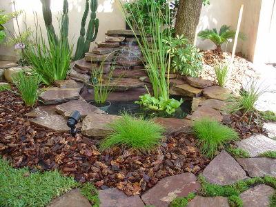 C mo iniciar tu jard n de permacultura for Cascadas y fuentes de agua para jardin