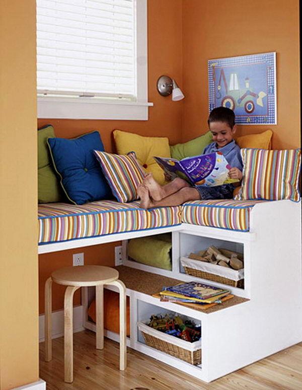 ahorrar espacio en la habitación de los niños
