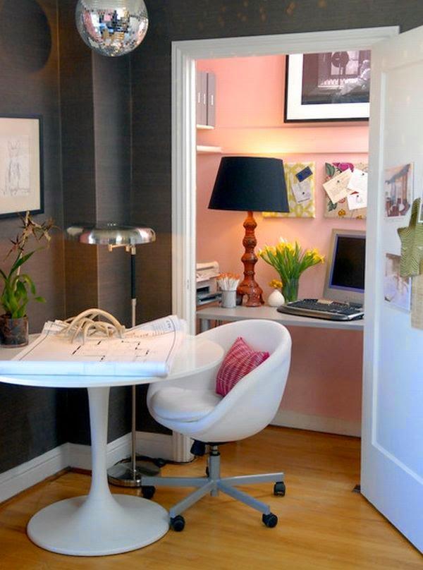 ahorrar espacio en la casa para poner la oficina