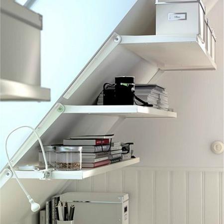 55 ideas de c mo aprovechar y ahorrar espacio en el hogar - Baldas de diseno ...
