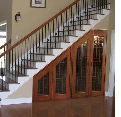 55 ideas de c mo aprovechar y ahorrar espacio en el hogar for Closet en escaleras