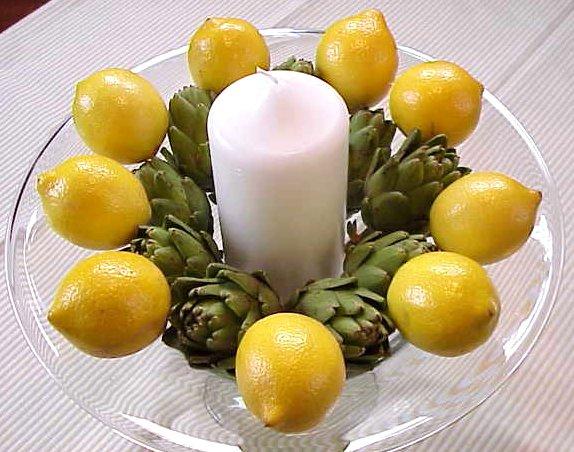 limón decoración