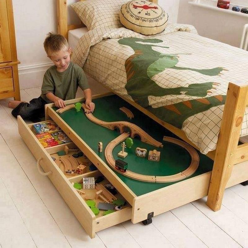 ideas para ahorrar espacio en el cuarto de los nios