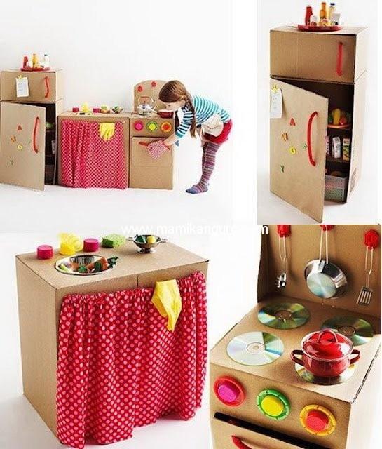 Ideas para hacer juguetes con material reciclado for Puertas de material reciclado