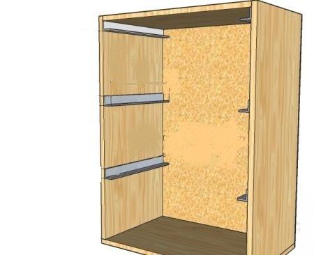 Ideas para hacer un mueble organizador para ropa - Lavado de muebles de madera ...