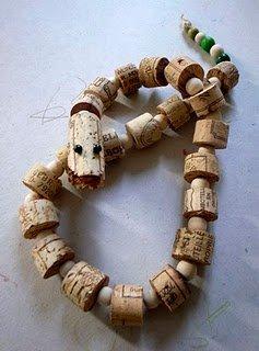 Viíbora de corcho juguetes
