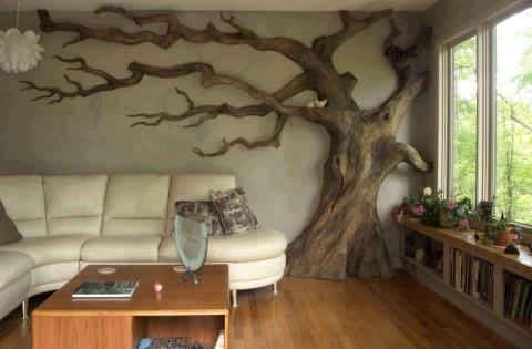 50 Ideas decorativas y útiles para hacer con troncos de madera ...