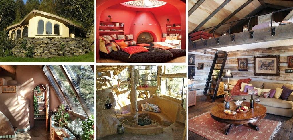 alturas en el diseño de casas naturales