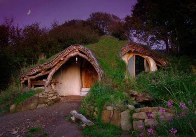 casa hobbit exterior simon