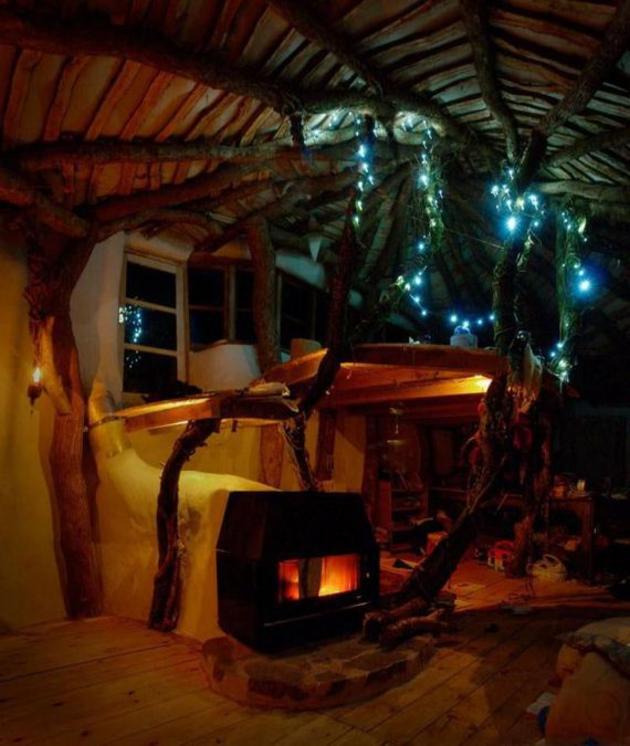 Casa hobbit natural