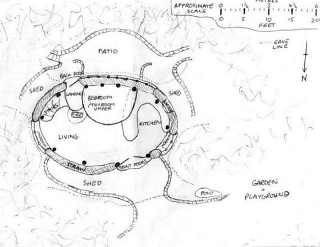 casa hobbit planos