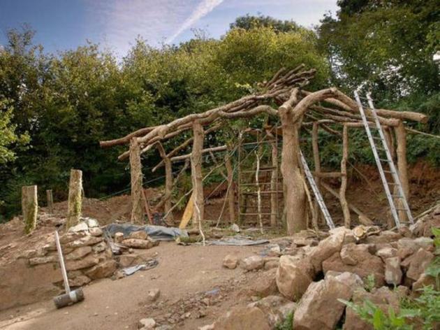 casa hobbit de tierra