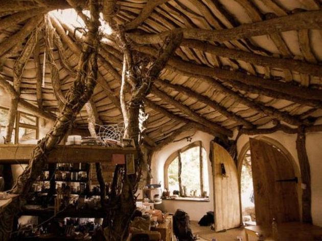 casa hobbit techo simon