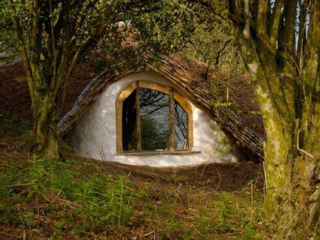ventana casa hobbit