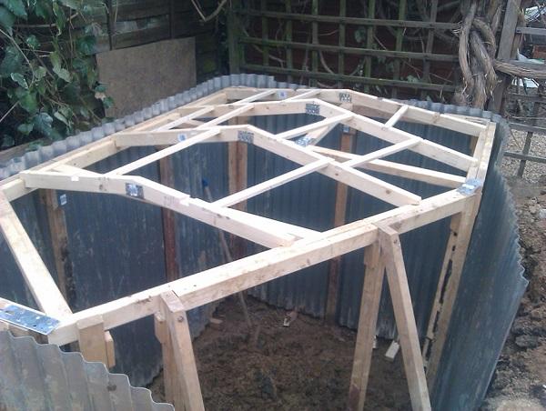 casa hobbit Ashley Yeates estructura