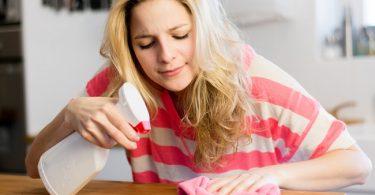 prácticos hábitos de limpieza en el hogar