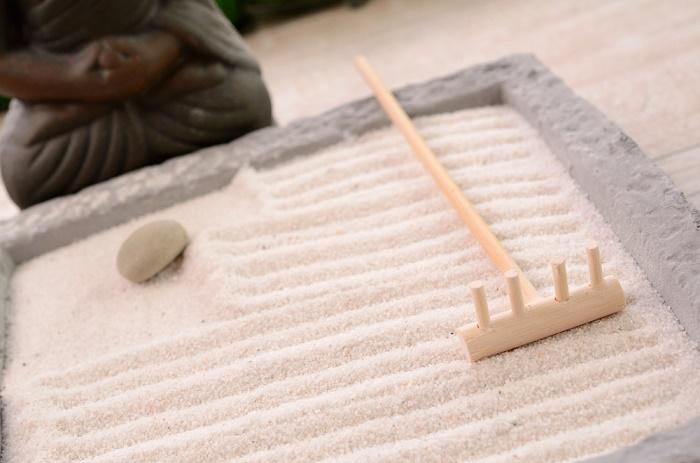 Jardín zen en caja