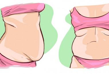 grasa en la panza grafico