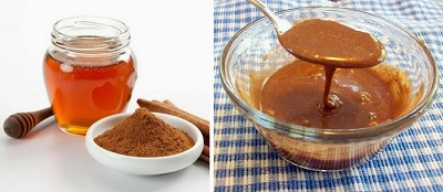 miel y canela mezcla