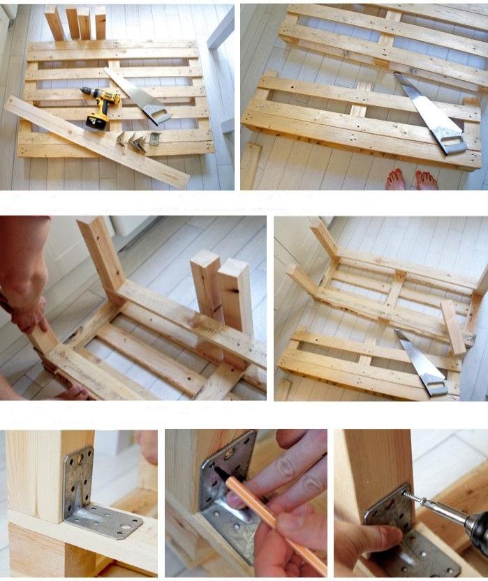 C mo hacer un sof con pallet paso a paso - Como hacer sillon de palets ...