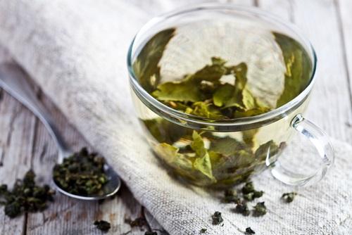 té verde y aloe vera para desintoxicar el cuerpo