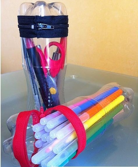 botes de plástico actividades reciclado