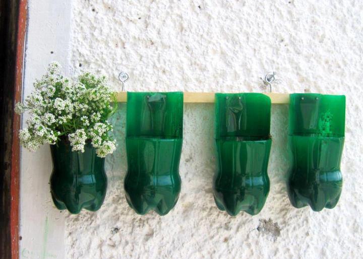50 Objetos Utiles Y Creativos Hechos Con Botes De Plastico