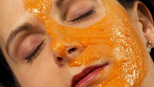 Papaya para la cara
