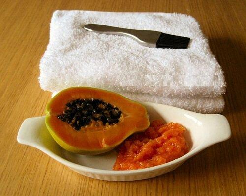 Papaya para la piel